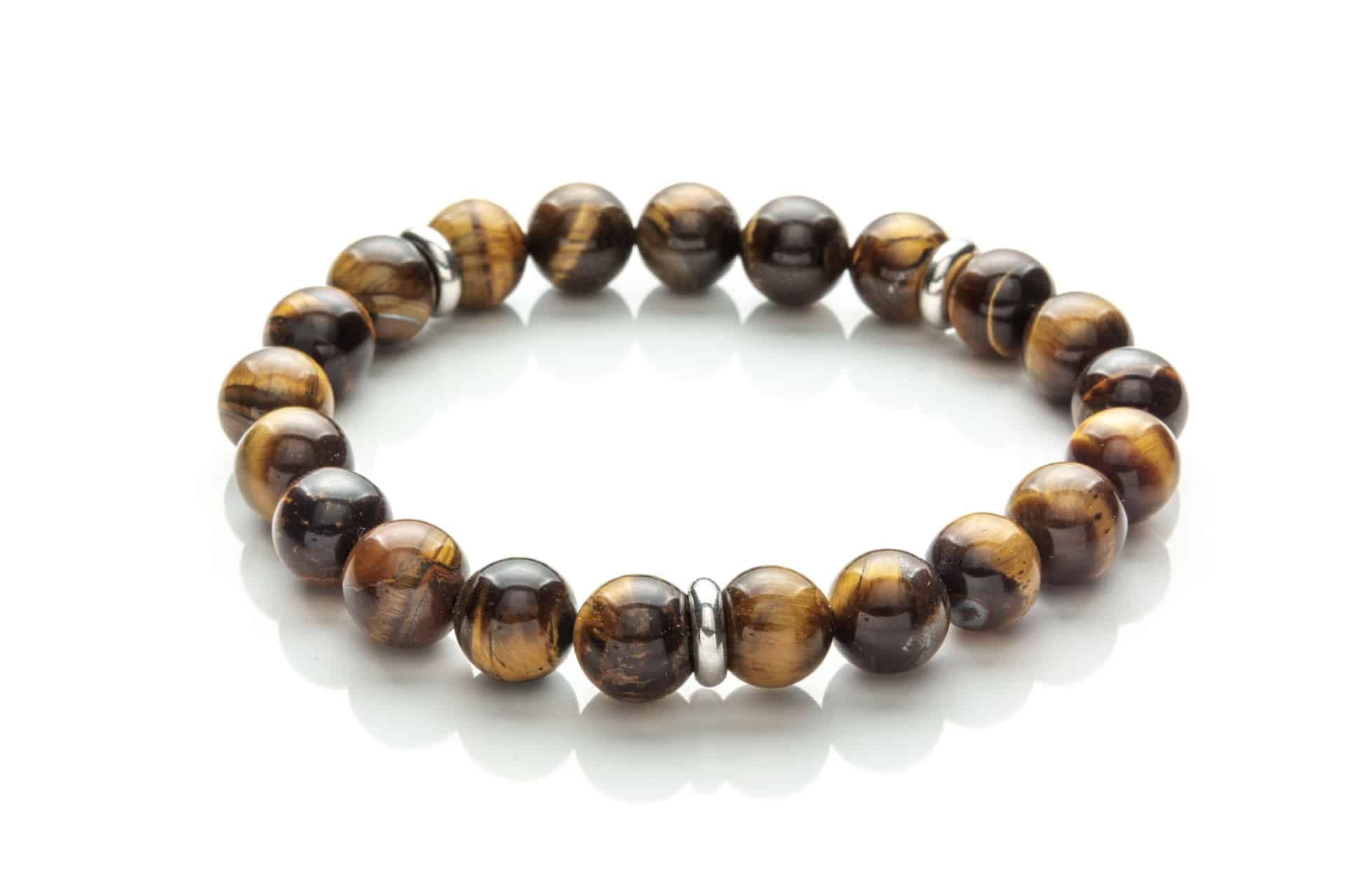 Men Bracelet Tiger Eye